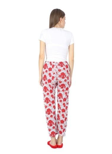 Akbeniz Pijama altı Kırmızı